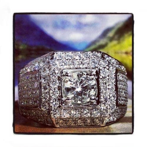 Prong Diamond Ring 35660 Stone