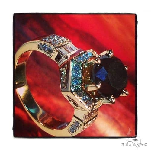 Torch Black Diamond Ring 40130 Anniversary/Fashion
