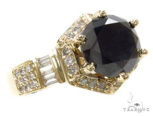 Torch Black Diamond Ring 40130 Anniversary/Fashion