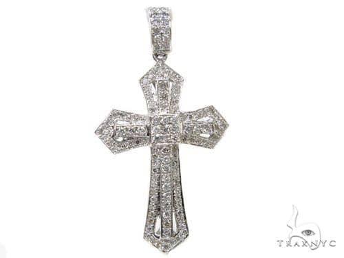 Prong Diamond Key Pendant 40227 Style