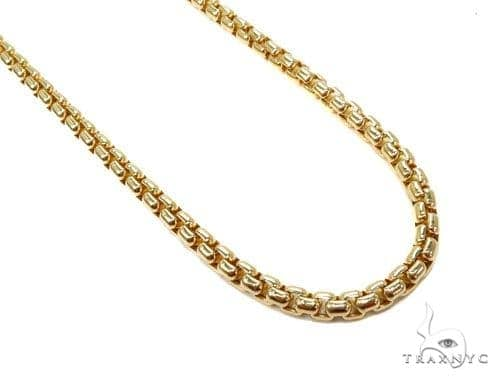 Round Box Gold Chain 18 Inches 5mm 19.8 Grams 40239 Gold