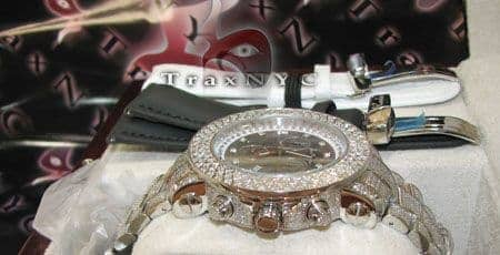 Joe Rodeo Junior Full Hip Hop Diamond Watches