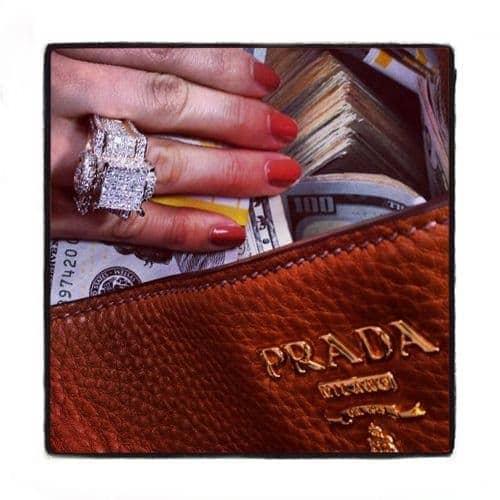 Ladies Nebula Ring Engagement