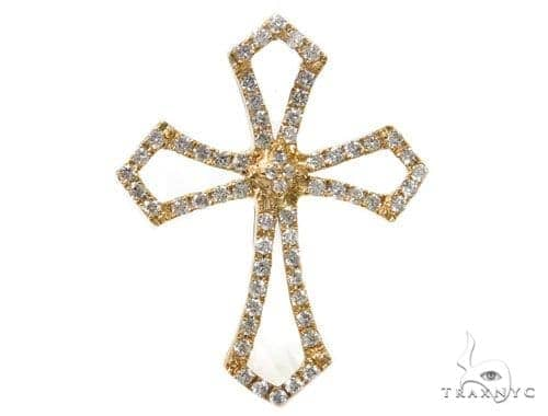 Prong Diamond Cross 40366 Style