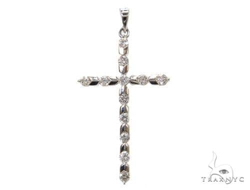 Prong Diamond Cross 40368 Diamond