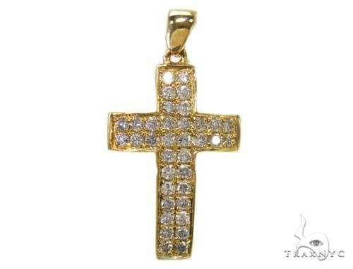 Prong Diamond Cross 40374 Style