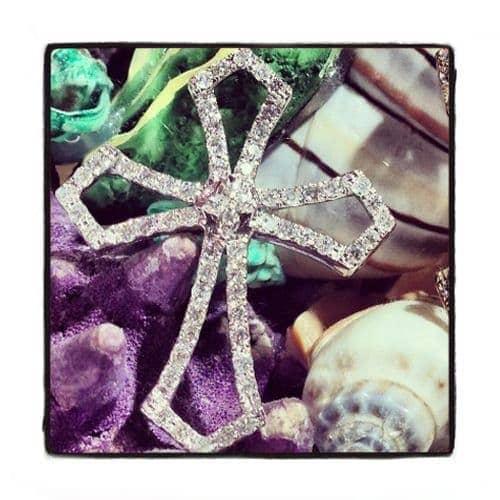 Prong Diamond Cross 40365 Style