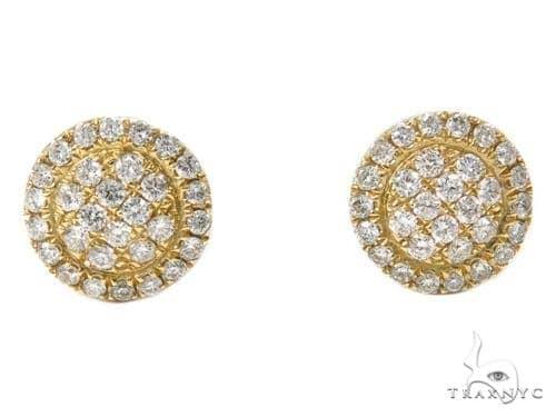 Prong Diamond Earrings 40389 Stone