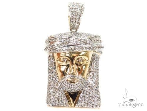 Prong Diamond Jesus Piece 40455 Style