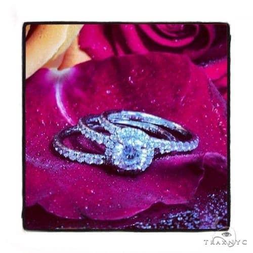 Heaven Sent Diamond Wedding Band Set Engagement