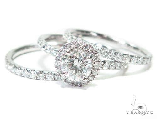 Heaven Sent Diamond Wedding Band Set 26858 Engagement