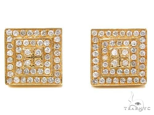 Prong Diamond Earrings 40533 Stone