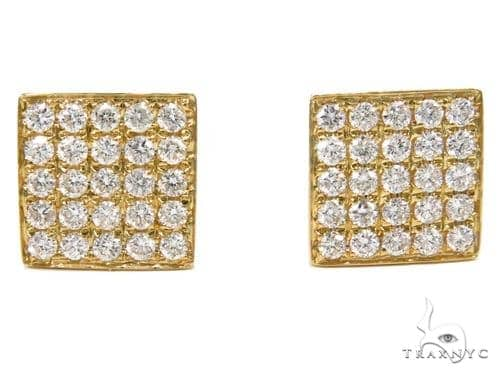 Prong Diamond Earrings 40540 Stone