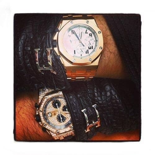 Audemars Piguet Royal Oak Offshore 18K Rose Gold Watch Audemars Piguet Watches