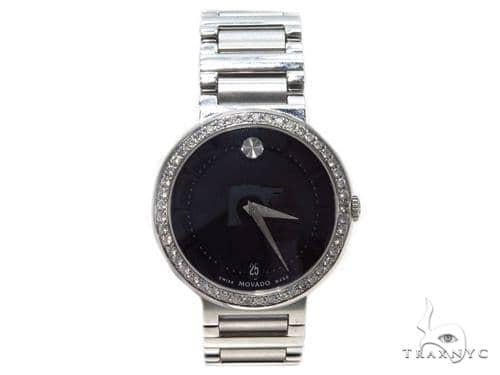 Pave Diamond Movado Watch 0606541 40593 Movado
