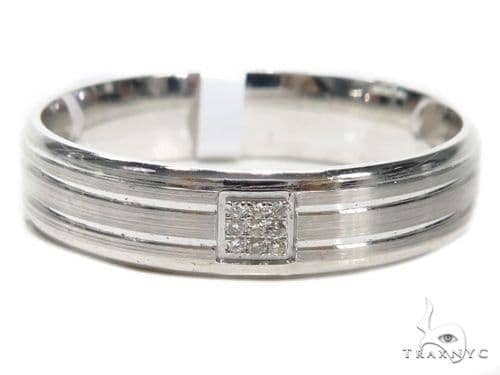 Prong Diamond Wedding Band 40620 Style