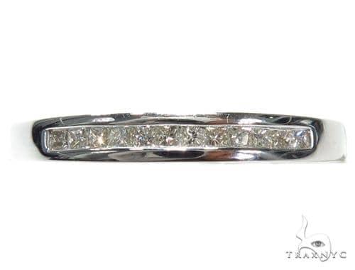 Invisible Diamond Wedding Band 40639 Style