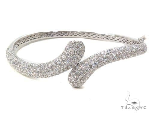 Gaia Diamond & Gold Bangle Bracelet 40681 Bangle