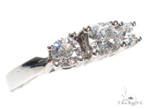 Prong Diamond Wedding Ring 40735 Wedding