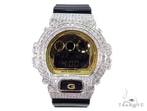 Prong Diamond G Shock Watch-3230 40777 G-Shock