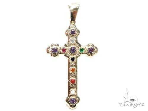 Basilica Diamond Gemstone Cross Crucifix 40809 Style