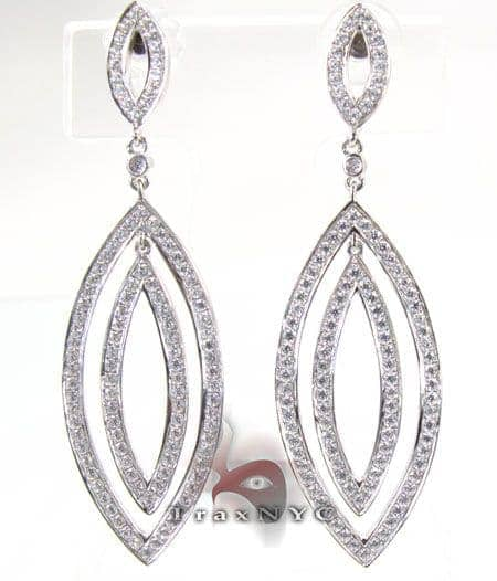 Illusion Earrings Stone