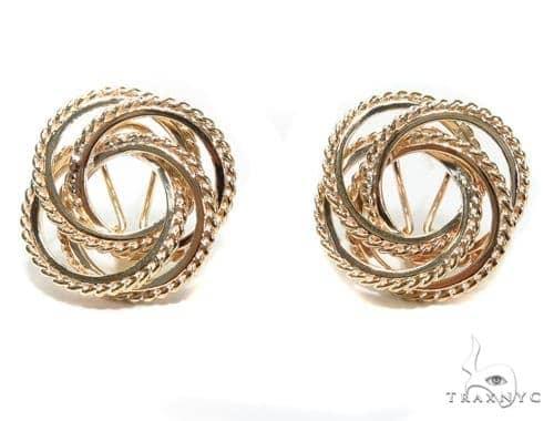 14k Yellow Gold Earrings 40831 10k, 14k, 18k Gold Earrings