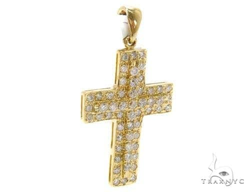 Prong Diamond Cross 40223 Style
