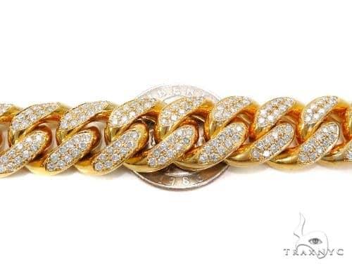 Miami Cuban Diamond Bracelet 40711 Diamond