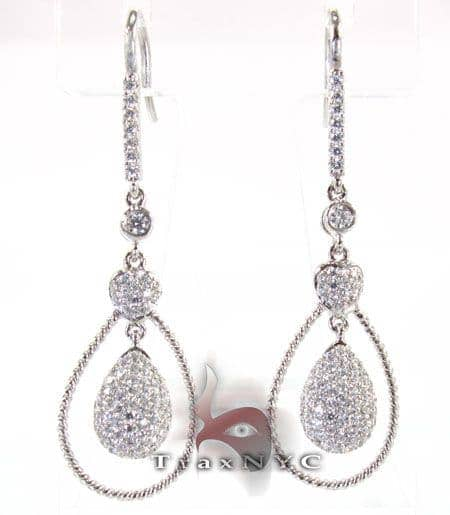 Noose Earrings Stone