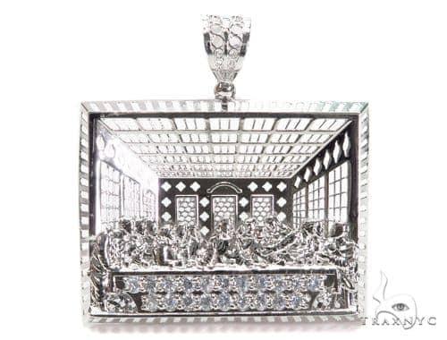 Sterling Silver Pendant 40901 Metal