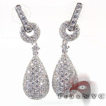 Pear Earrings 2 Stone