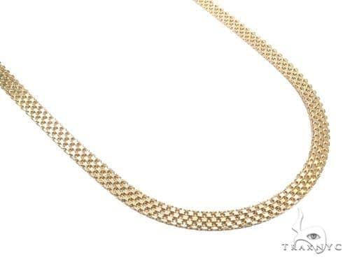 Bismark Gold Chain 24 Inches 8mm 42.6 Grams 40912 Gold