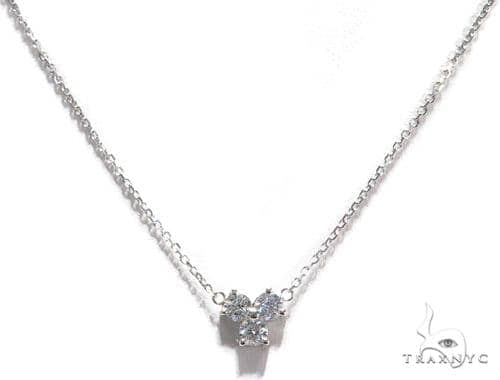 Triple Diamond Necklace 40935 Diamond