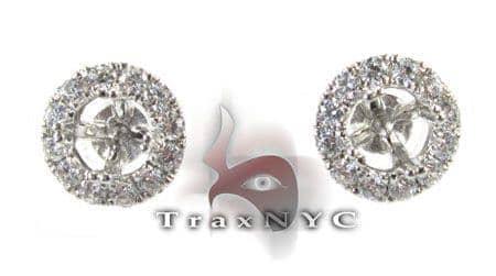 Orb Earrings Stone