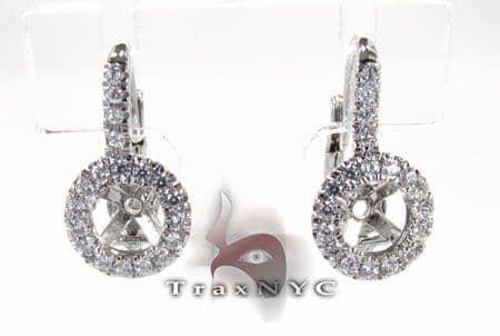 Hex Earrings 3 Stone