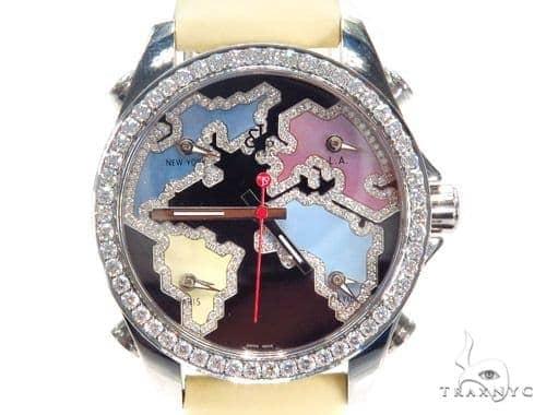 JACOB & Co Five Time Zone Diamond Watch JCM122 41011 JACOB & Co