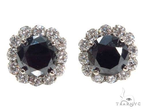 Cetus Diamond Earrings 41044 Stone