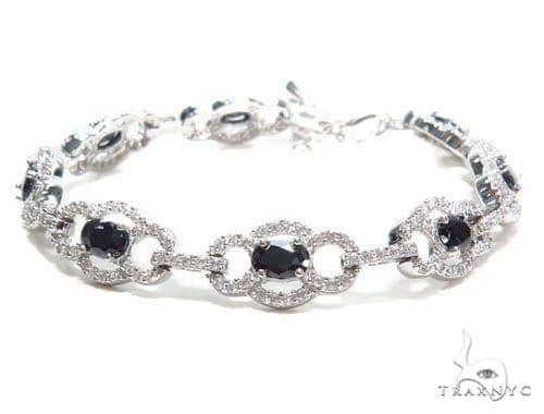 Sterling Silver Bracelet 41082 Silver & Stainless Steel