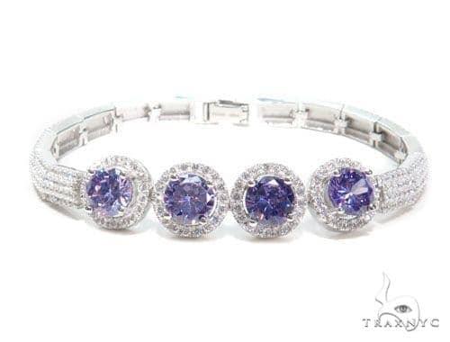 Sterling Silver Bracelet 41086 Silver & Stainless Steel