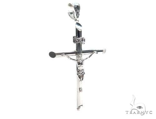 Jesus Silver Cross Crucifix 41100 Silver