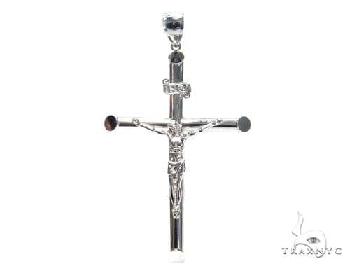 Silver Cross Crucifix 41101 Silver
