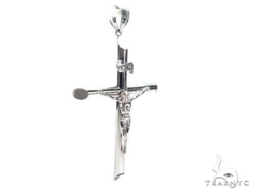 Silver Cross Crucifix 41101 Silver