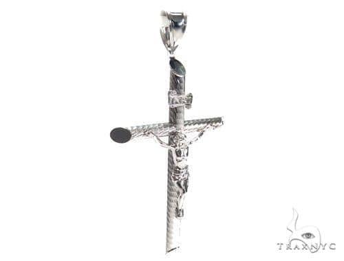 Jesus Silver Cross Crucifix 41102 Silver
