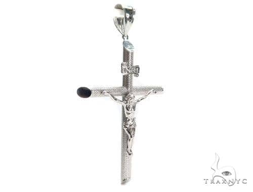Jesus Silver Cross Crucifix 41104 Silver