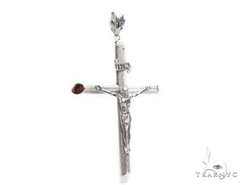 Silver Cross Crucifix 41105 Silver