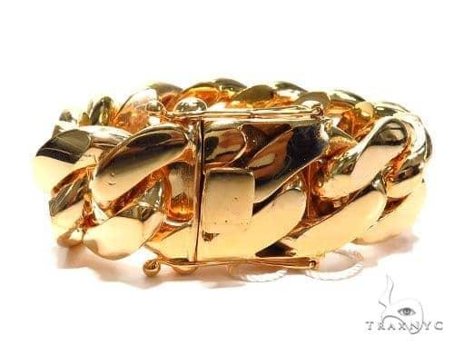 Miami Cuban Gold Bracelet 41125 Gold