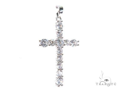 Silver Cross Crucifix 41143 Silver