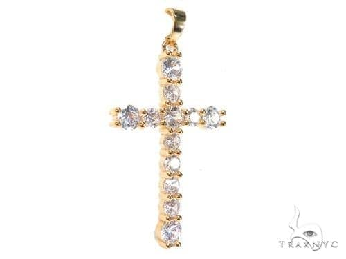Silver Cross Crucifix 41144 Silver