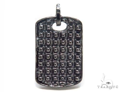 Sterling Silver Dog Tag 41190 Metal